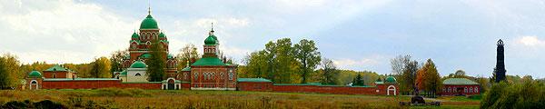 Спассо-Бородинский монастырь  Бородинское поле